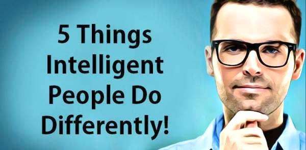 5 رفتار متفاوت افراد باهوش با دیگران